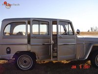 Willys Wagon Hy-rail