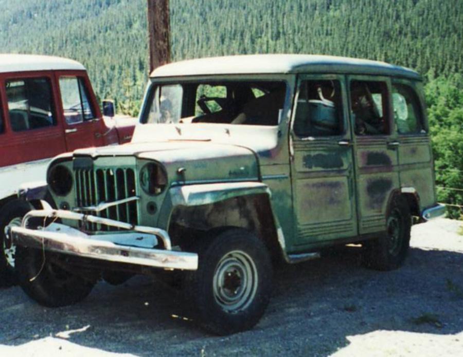 Willys   4 Door Willys Wagons