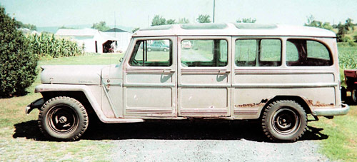 Willys stretch limo